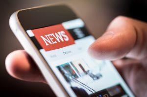 Benefícios dos jornais online para a geração de mídia espontânea.