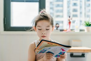 How to help your child get into the habit of reading.